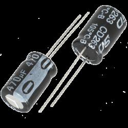 Capacitores Electrolíticos